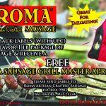 FREE ROMA SAUSAGE GRILLMASTER APRON