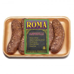 roma andouille with label