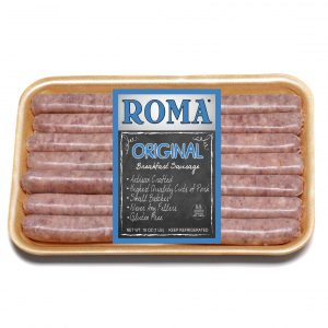 roma original breakfast with label